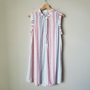 Bella Dahl Stripe Sleeveless Dress Cloth & Stone